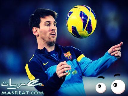 ليونيل ميسي 400 مباراة مع نادي برشلونة في لقاء ليفانتي و البرسا
