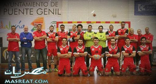 منتخب مصر لكرة اليد في نصف نهائي كأس امم افريقيا 2014 بالجزائر