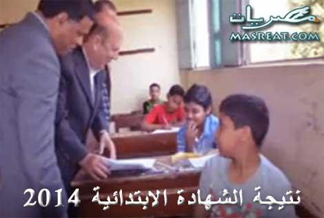 نتيجة الشهادة الابتدائية 2014 اخر العام الترم الثاني
