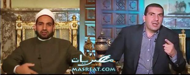 تسريب فتوى للداعية عمرو خالد والشيخ سالم عبد الجليل فيديو يوتيوب