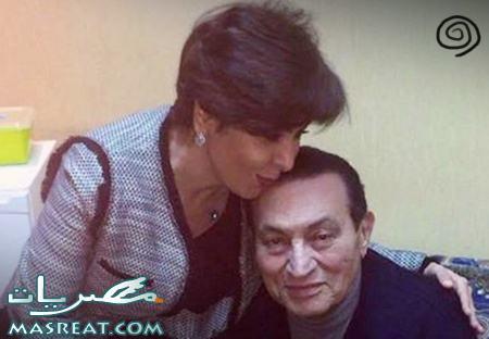صورة  مقابلة حسني مبارك مع الصحفية الكويتية