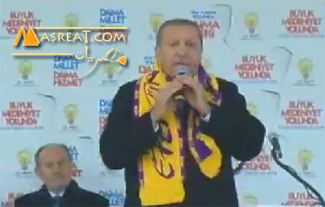 بالفيديو اردوغان يصيح كالديك بسبب نتائج الانتخابات التركية