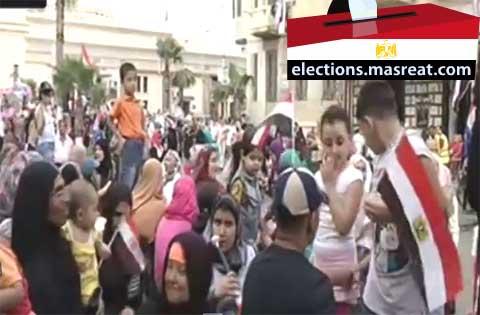 تمديد التصويت بقرار من اللجنة العليا للانتخابات الرئاسية 2014