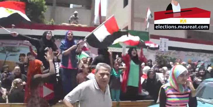 نتيجة انتخابات الرئاسة المصرية 2014 نتائج التصويت بالارقام
