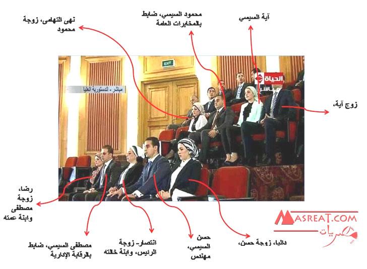 عائلة عبد الفتاح السيسي