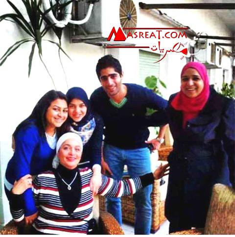 بالصور الظهور الاول لآية ابنة الرئيس عبد الفتاح السيسي