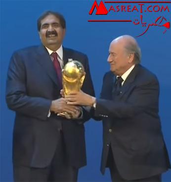 اعادة التصويت على استضافة قطر لكأس العالم 2022 بسبب الرشاوي