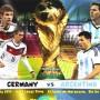 موعد مشاهدة بث مباراة المانيا والارجنتين نهائي كأس العالم 2014