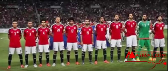 تصنيف المنتخب المصري