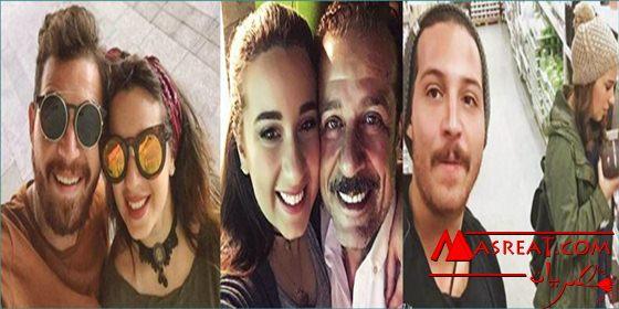خطوبة اسماء شريف منير ومحمود حجازي