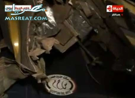 اشلاء القطارات في حادثة العياط و حادث قطار القاهرة و قطار الفيوم