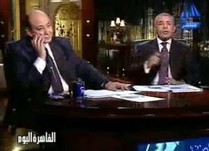 عمرو اديب خناقة حامية عن حادثة قطار العياط