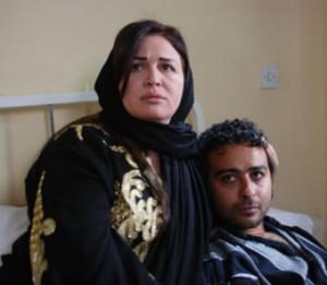 الهام شاهين مع احمد عزمي في مسلسل عشان ماليش غيرك